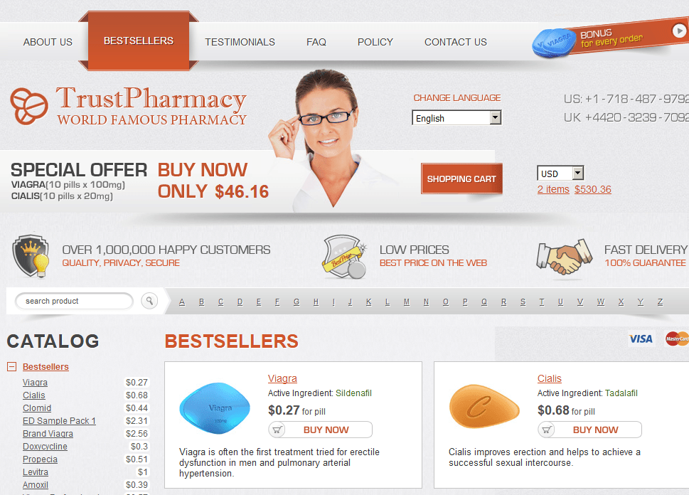 Good Pills Homepage Screenshot